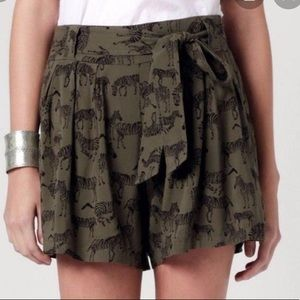 Anthropologie daughters of the liberation shorts 6